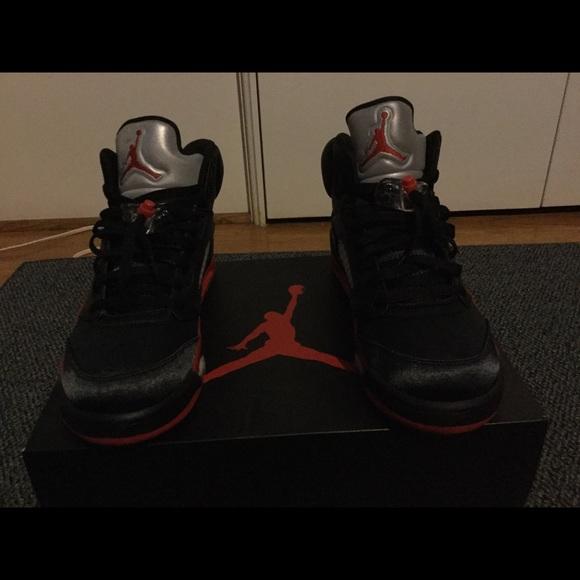 outlet store aa5cc ff0c6 Air Jordan Retro 5 V Satin Bred Size 11